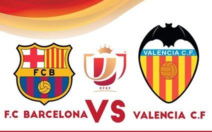 VALENCIA CF – FC  BARCELONA  en directo en la Plaza Prado