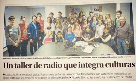 EL TALLER DE RADIO Y COMUNICACIÓN UNE CULTURAS