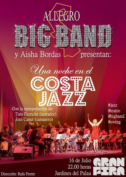 Hoy:  «Una Noche en el Costa Jazz» en Valencia (no se lo pierdan)
