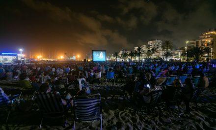 Una nueva edición de «Cine junto al mar» con más de 1.500 espectadores