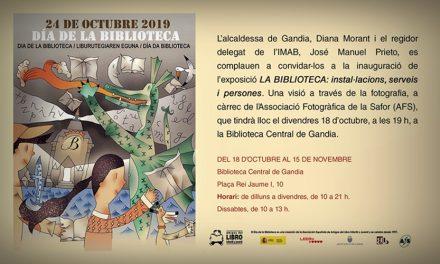 La BiBlioteca: exposición de la Asociación de Fotógrafos de la Safor (AFS)
