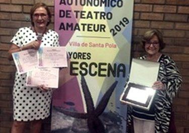 El grupo de teatro del Centro de Gandia gana el II Certamen de Teatro amateur 2019- Villa de Santa Pola
