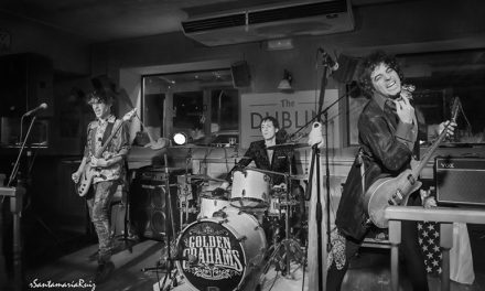 The Goldem Grahams, explosión de rock en directo