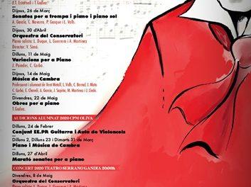 El Conservatori Professional de Música d'Oliva 'Josep Climent' commemora enguany el 250 Aniversari de Beethoven