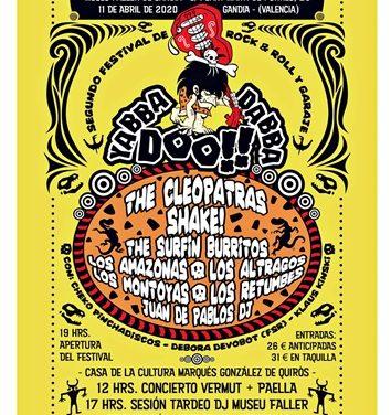 Festival de rock'n'roll i garatge solidari YABBA DABBA DOO 2020