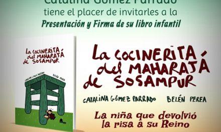 Presentación  de LA COCINERITA DE MAHARAJA DE SOSAMPUR el 28 de febrero a las 19,30 hs. en La biblioteca de Gandia