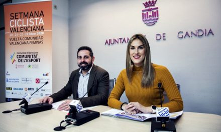 Gandia torna a convertir-se en el centre neuràlgic de la Setmana Ciclista Valenciana