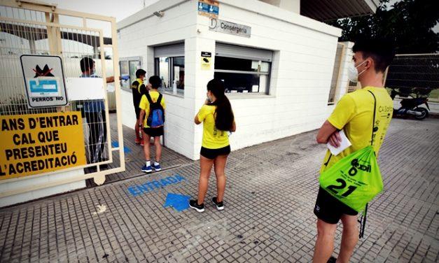 Los atletas del Club d'Atletisme Safor Teika  se reencuentran con la pista
