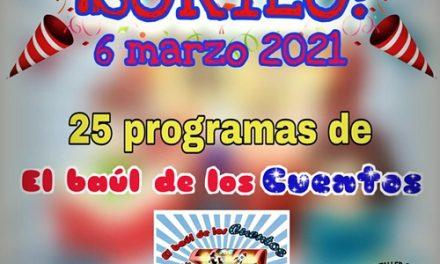 «El Baúl de los Cuentos» celebra sus 25 programas con un sorteo estupendo!