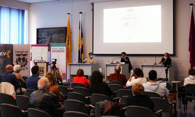 Ricardo Bellveser presentó su libro en Fomento de Gandia